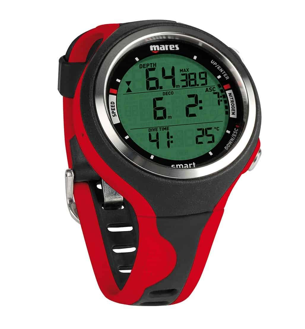 Mares Smart Dive Computer - Black/Red