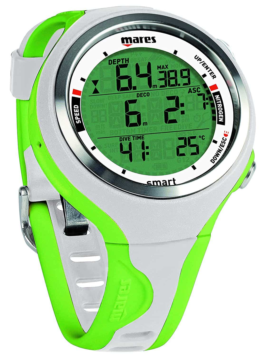 Mares Smart Dive Computer - White/Lime