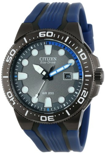 Citizen Men's BN0097-02H Scuba Fin Eco-Drive Scuba Fin Diver's Watch