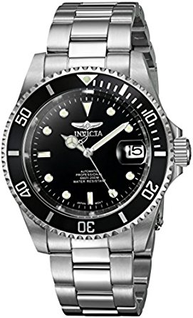 Invicta Mens 8932 Pro Diver Collection Silver-Tone Watch