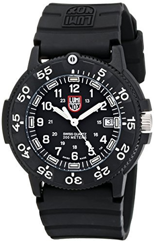 Luminox Men's 3001 Quartz Navy Seal Dive Watch_