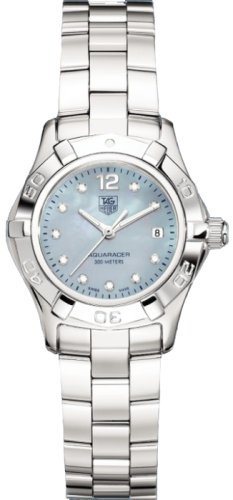 TAG Heuer Women's WAF1419.BA0813 2000 Aquaracer Diamond Accented Watch