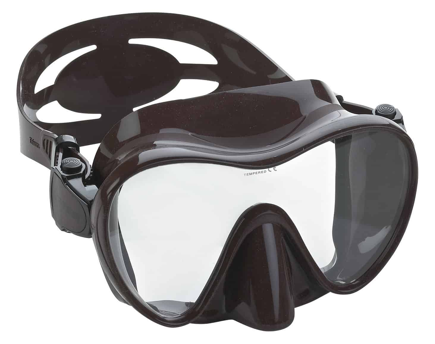 Cressi F1 - Scuba Diving Snorkeling Frameless Mask