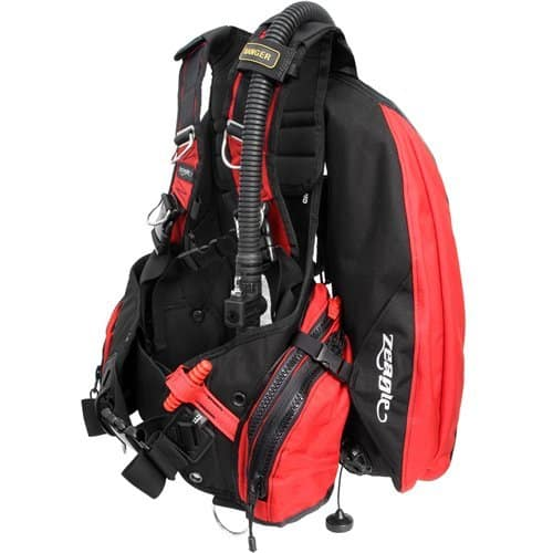 Zeagle Ranger Black and Red Scuba Diving BC