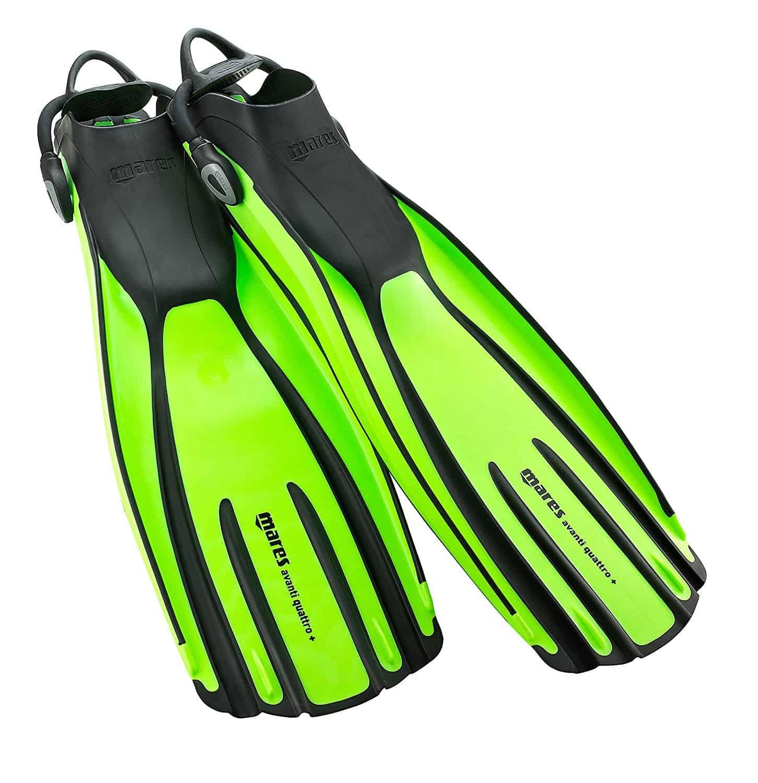 Open heel vs full foot scuba diving fins scuba diving gear for Dive fins