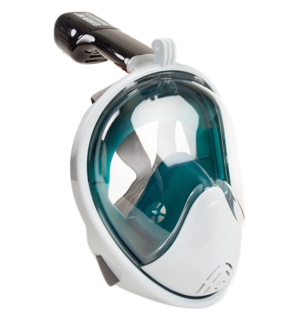 The Seaview 180 Degree Mask in Teal