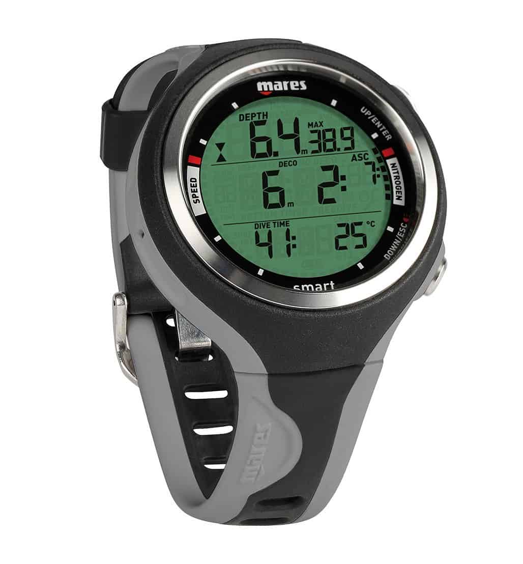 Mares Smart Dive Computer - Black/Grey