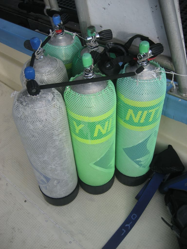 Nitrox Dive Tanks
