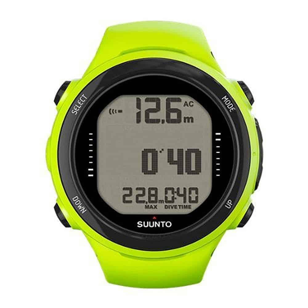 Suunto Model D4i (Novo) in Lime color variation
