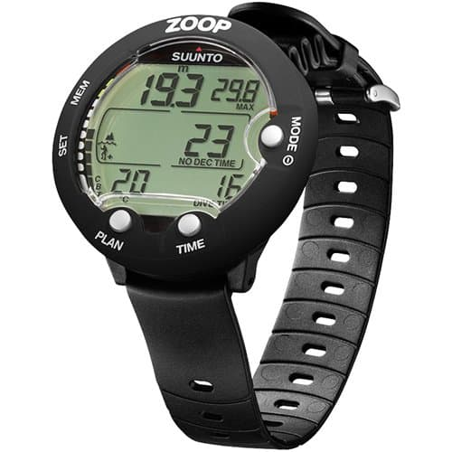 Zoop Scuba Diving Computer from Suunto in Black