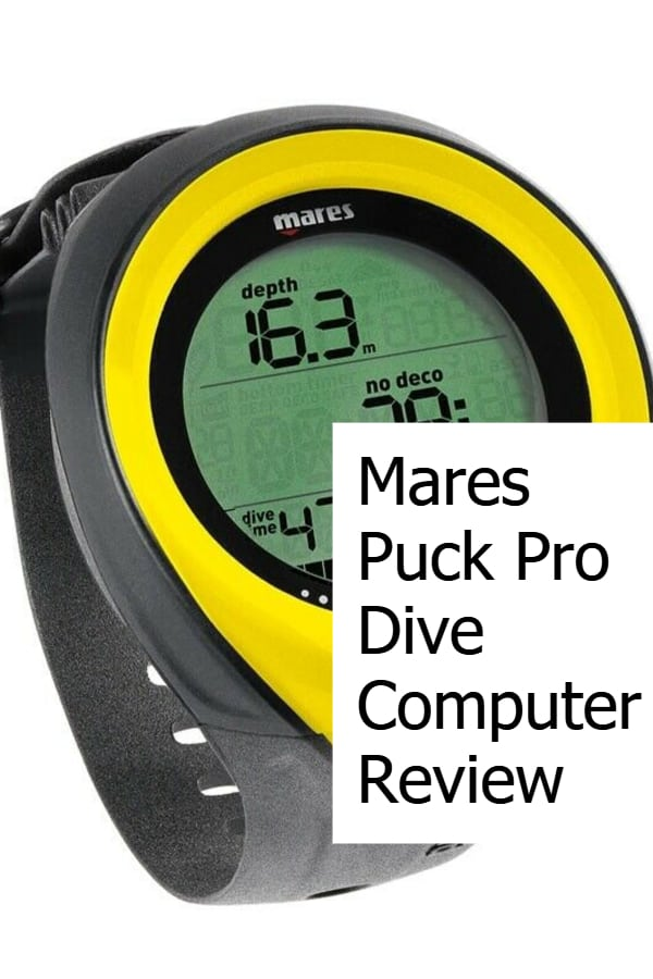 Review of the Mares Puck Pro - An affordably scuba diving computer