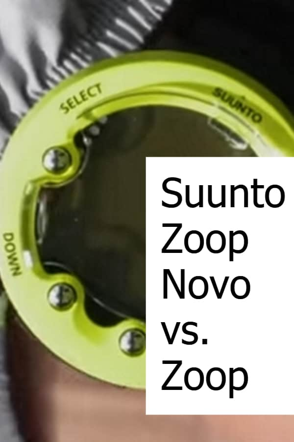 Comparing the Suunto Zoop and Zoop Novo - What has changed?