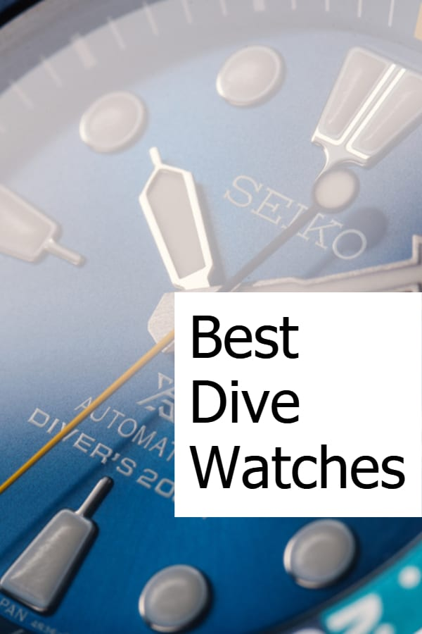 Best Dive Watches - Pin