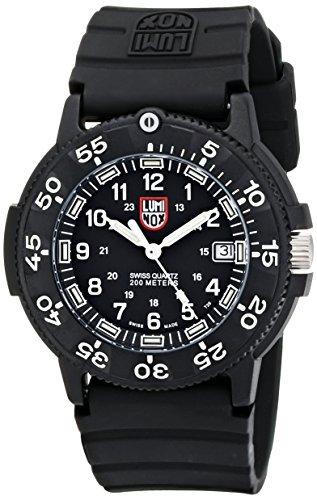 Luminox Men's 3001 Quartz Navy Seal Dive Watch_
