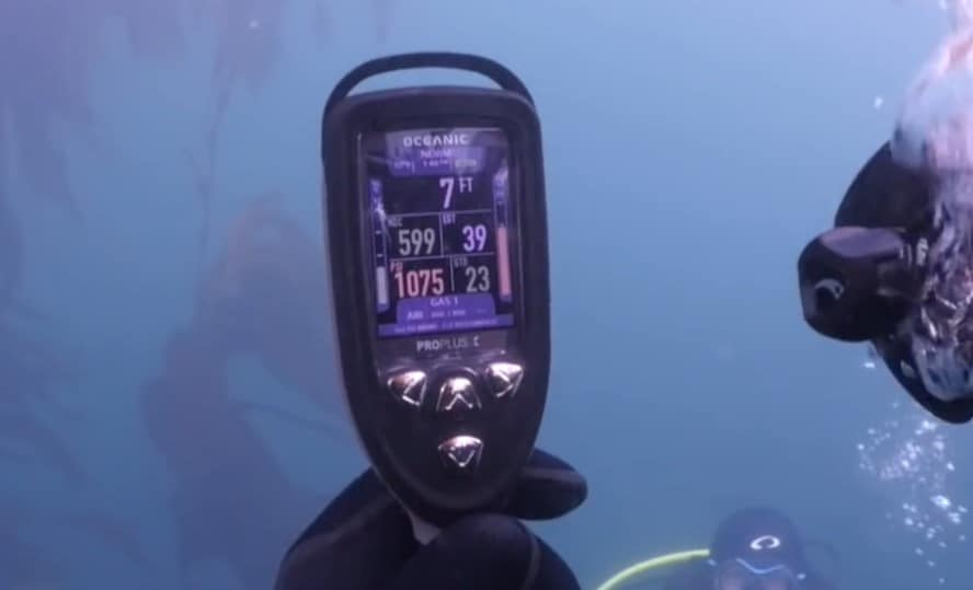 Oceanic Console Mounted Dive Computer