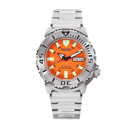 Seiko Men's SKX781 Orange Monster Automatic Dive Watch