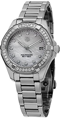 Tag Heuer Aquaracer 300M Women's Diamond Watch - WAY1314.BA0915