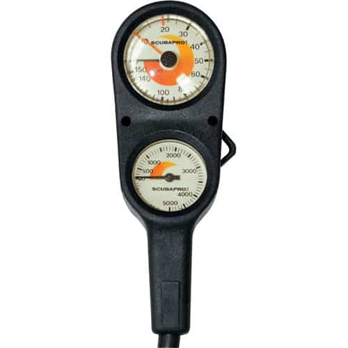 ScubaPro Depth And Pressure Gauge