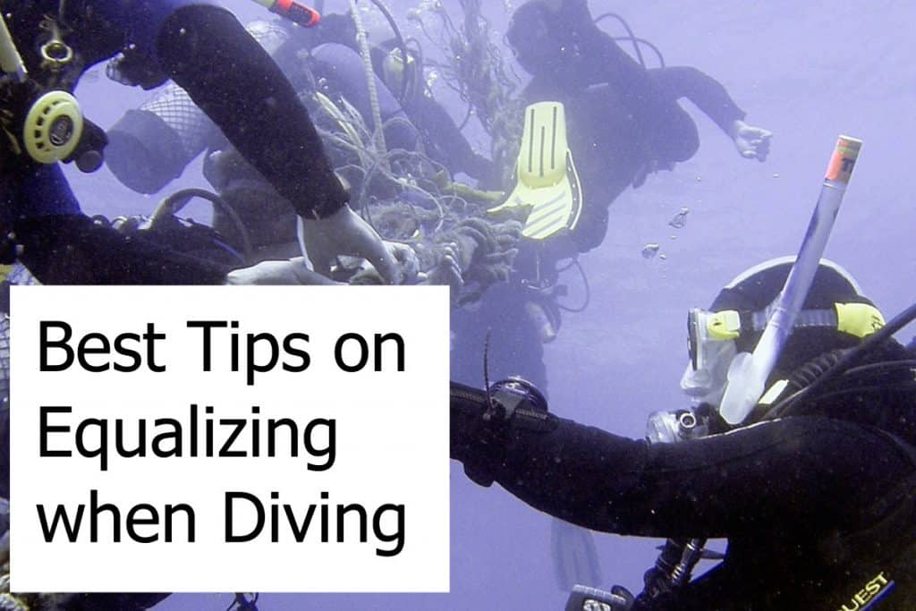 Best Tips on Equalizing when Diving