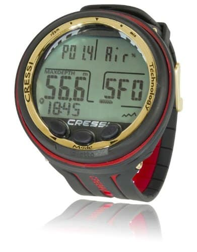 Cressi Giotto Dive Computer Black-Red