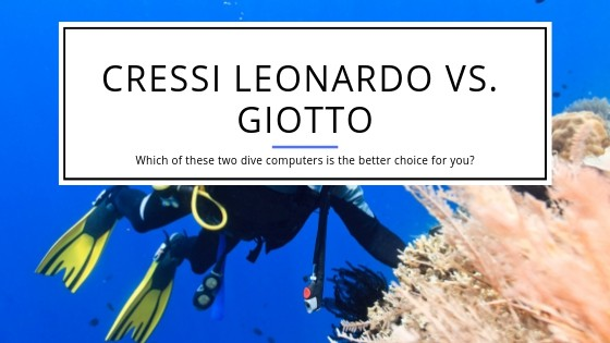 Cressi Giotto vs Leonardo Comparison
