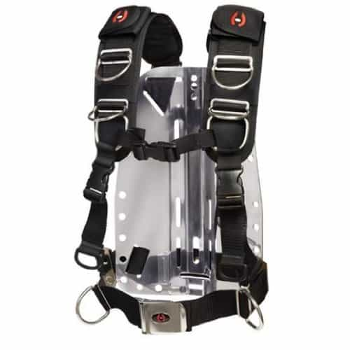 Hollis Elite II Backplate BCD