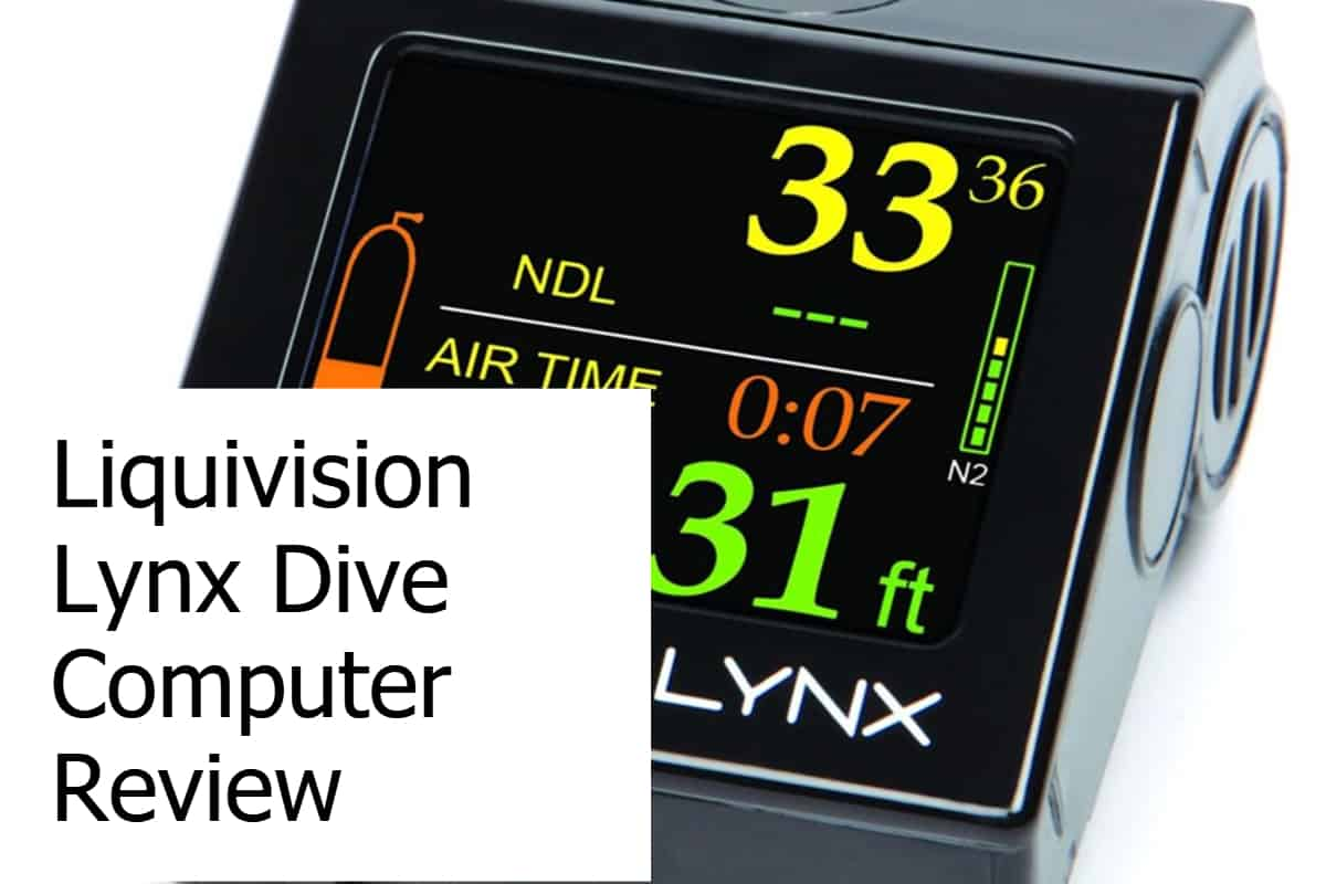 Review of the Liquivision Lynx Scuba Diving Computer