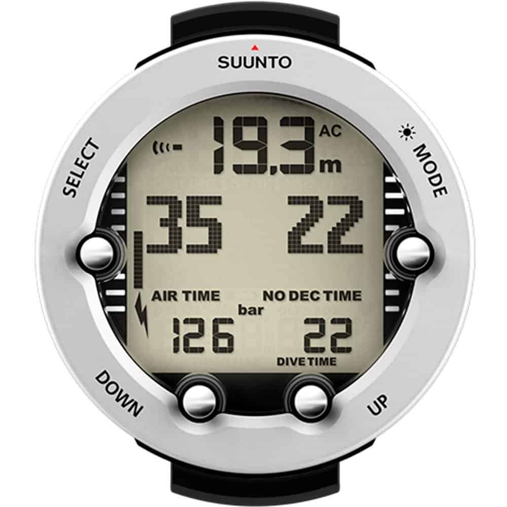 Suunto Vyper Novo Air Integrated Dive Computer White