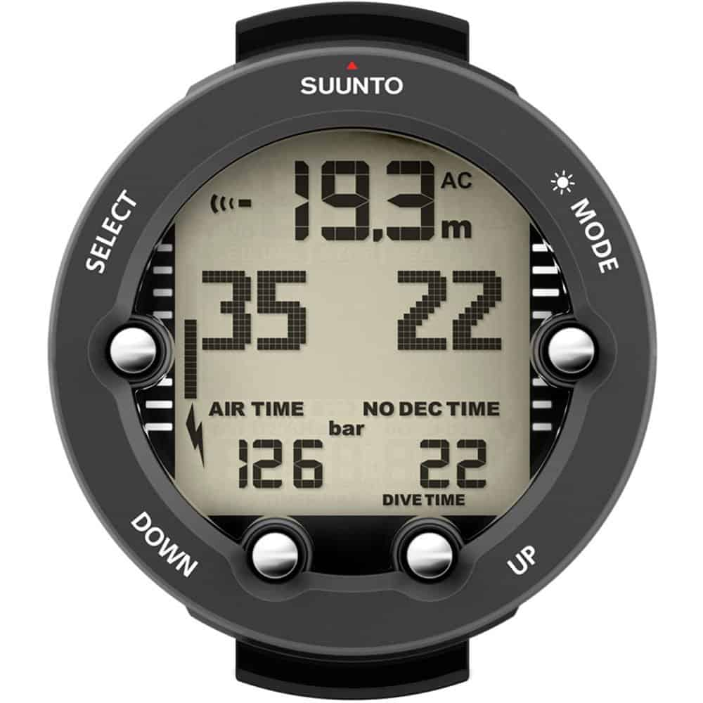 Suunto Vyper Novo Air Integrated Dive Computer Black