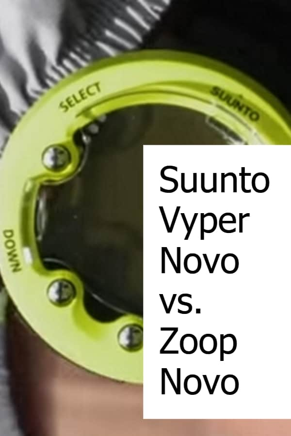 Comparing the Zoop Novo and the Vyper Novo from Suunto