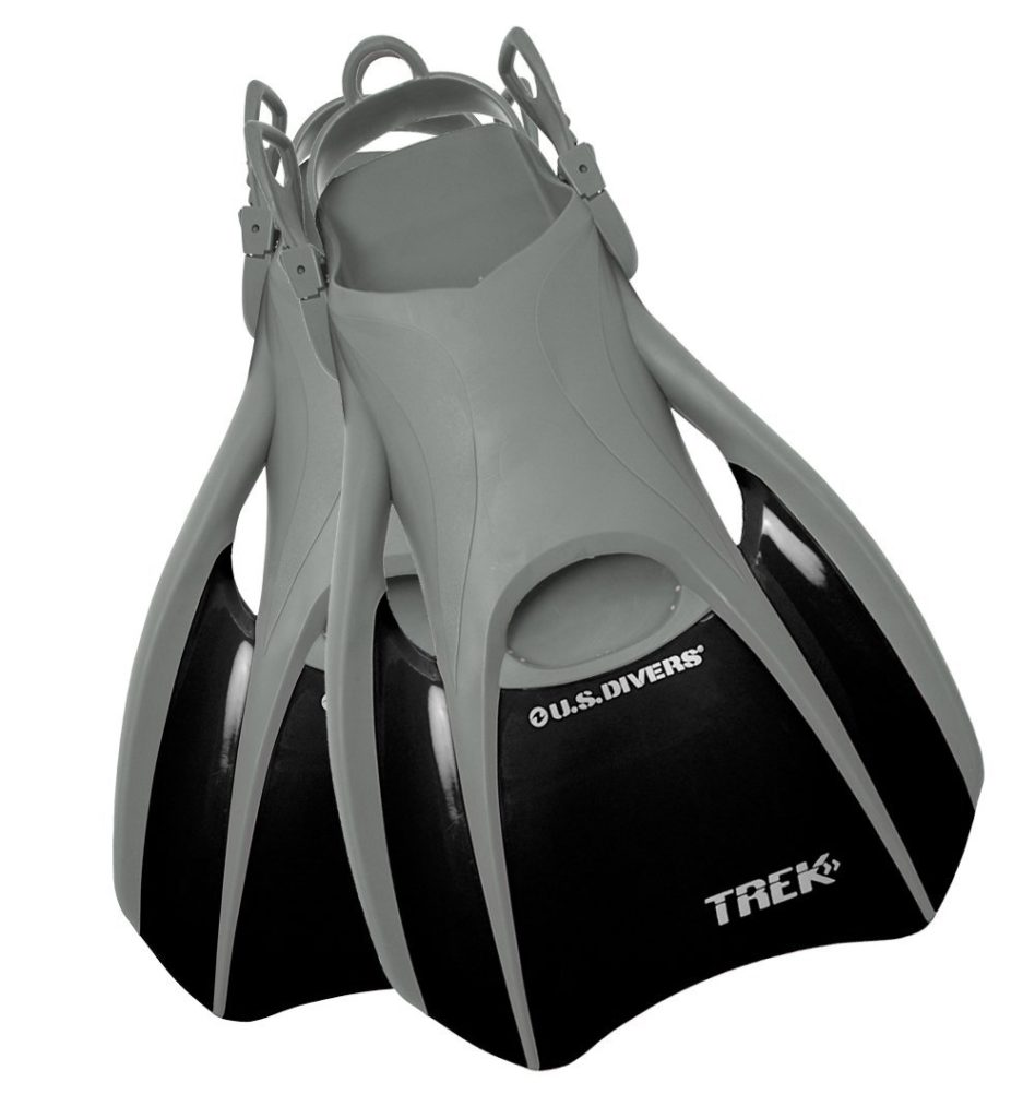 US Divers Trek Travel Paddle Fin