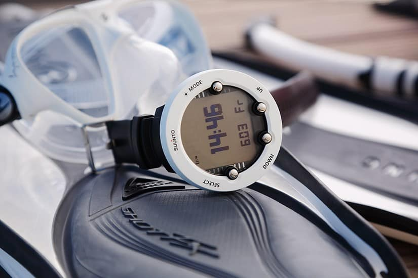 White Decompression Calculator from Suunto