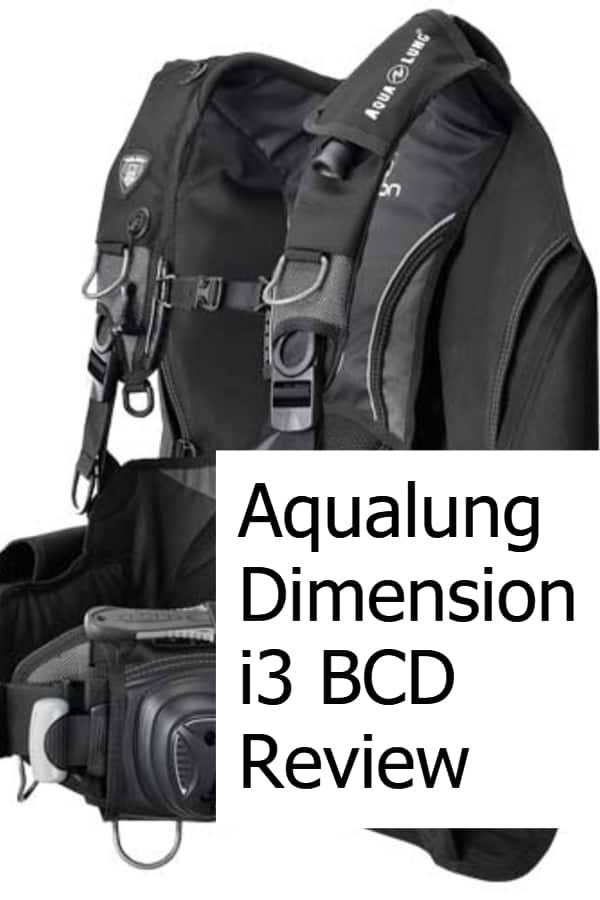 Review of the Dimension i3 BCD by Aqualung