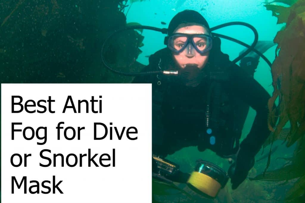 Find the best solution to prevent fogging of your snorkeling or diving mask