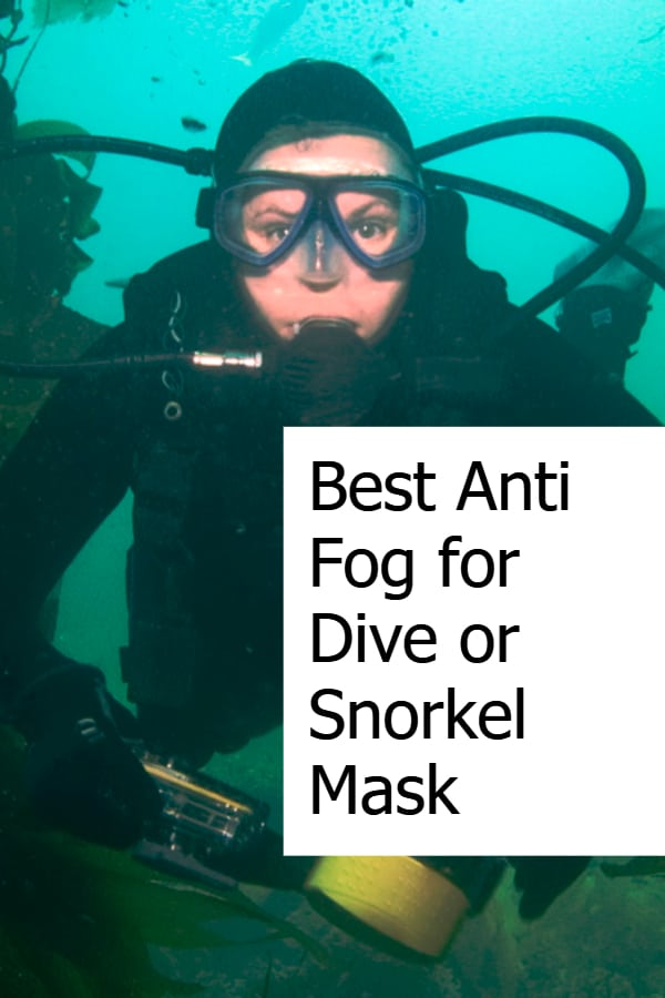 Find the best anti-fog for your snorkeling or diving mask