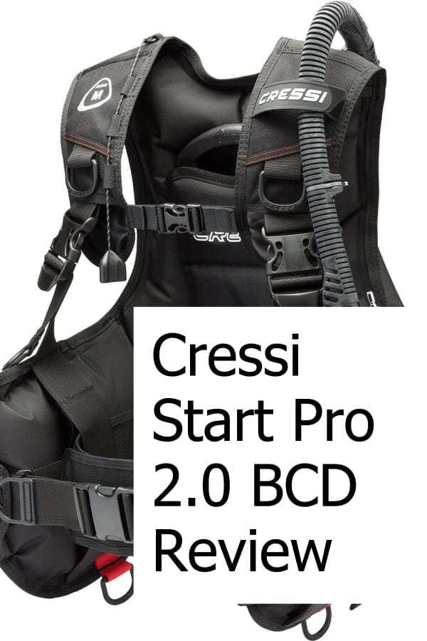 Review of the Start Pro 2.0 BCD from Cressi