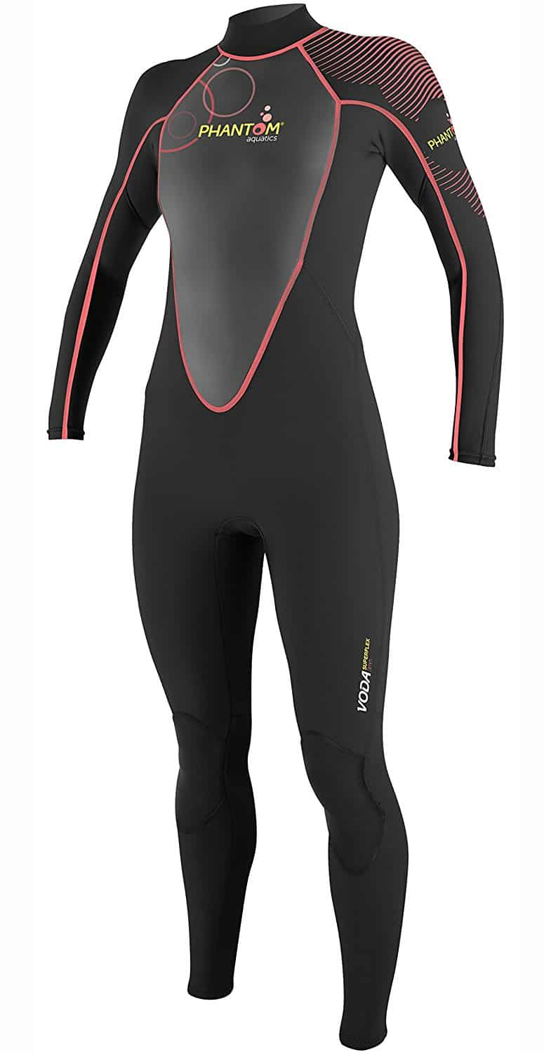 Phantom Aquatics Women's Voda Premium Stretch Full Wetsuit