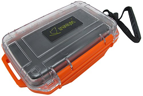 Scuba Choice Scuba Diving Dive Waterproof Orange Dry Box