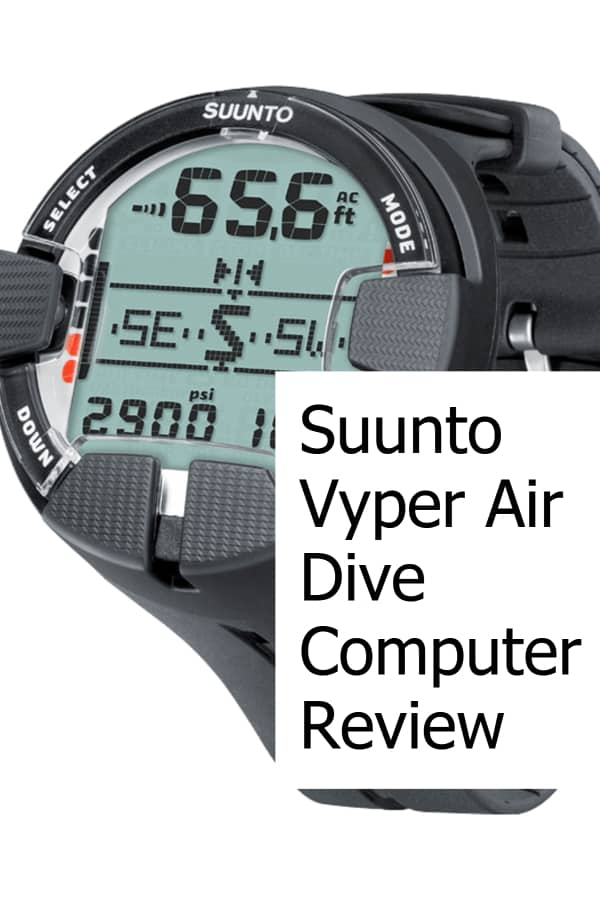 Review of the Vyper Air Scuba Diving Computer from Suunto