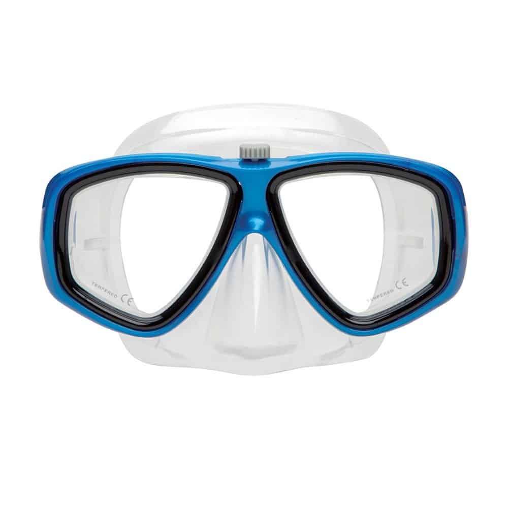 XS Scuba Mask Switch Blue-Clear