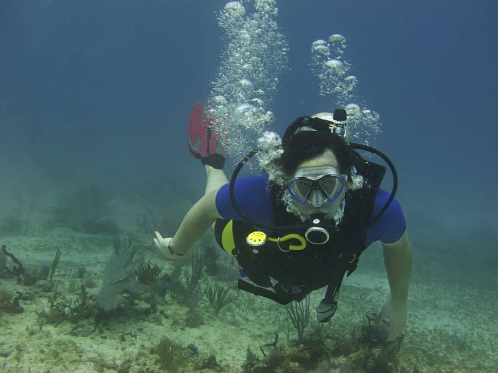 Plan your dive to stay calm and relaxed and need less air