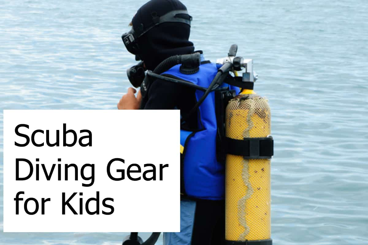 Find the best and safest scuba gear when your kids are ready to scuba