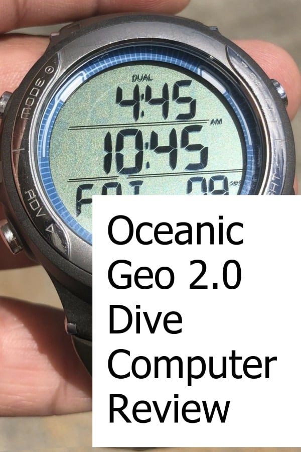 Review of the Oceanic Geo 2.0 Dive Computer
