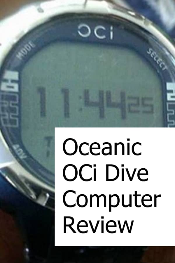 Review of the Oceanic OCi Dive Computer