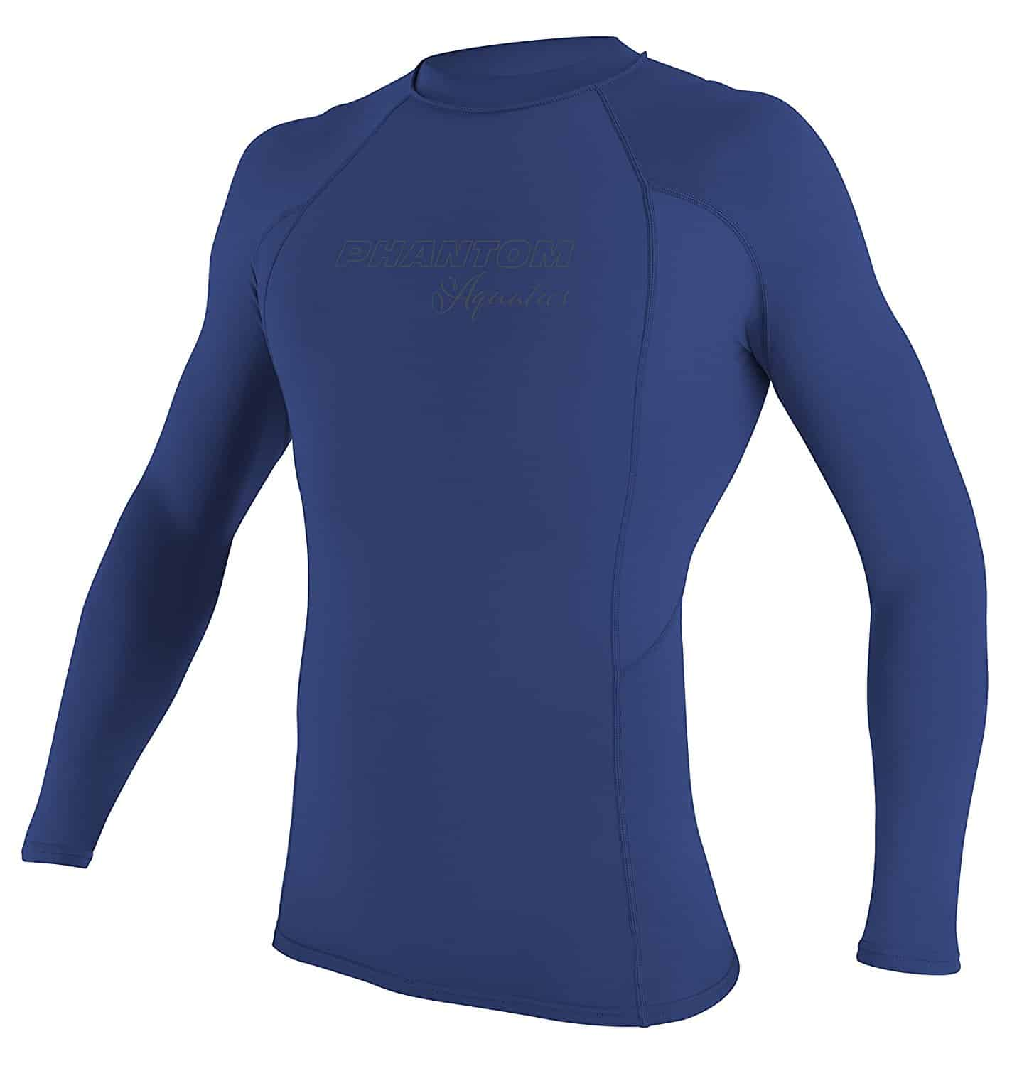 Phantom Aquatics Men's UV Protection Long Sleeve Rash Guard