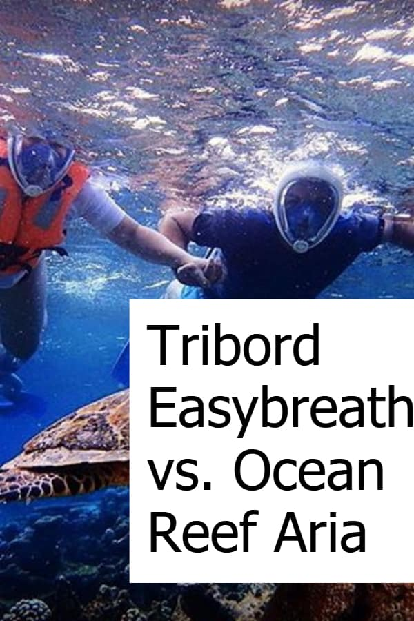 Comparing the Ocean Reef Aria with the Tribord Easybreath