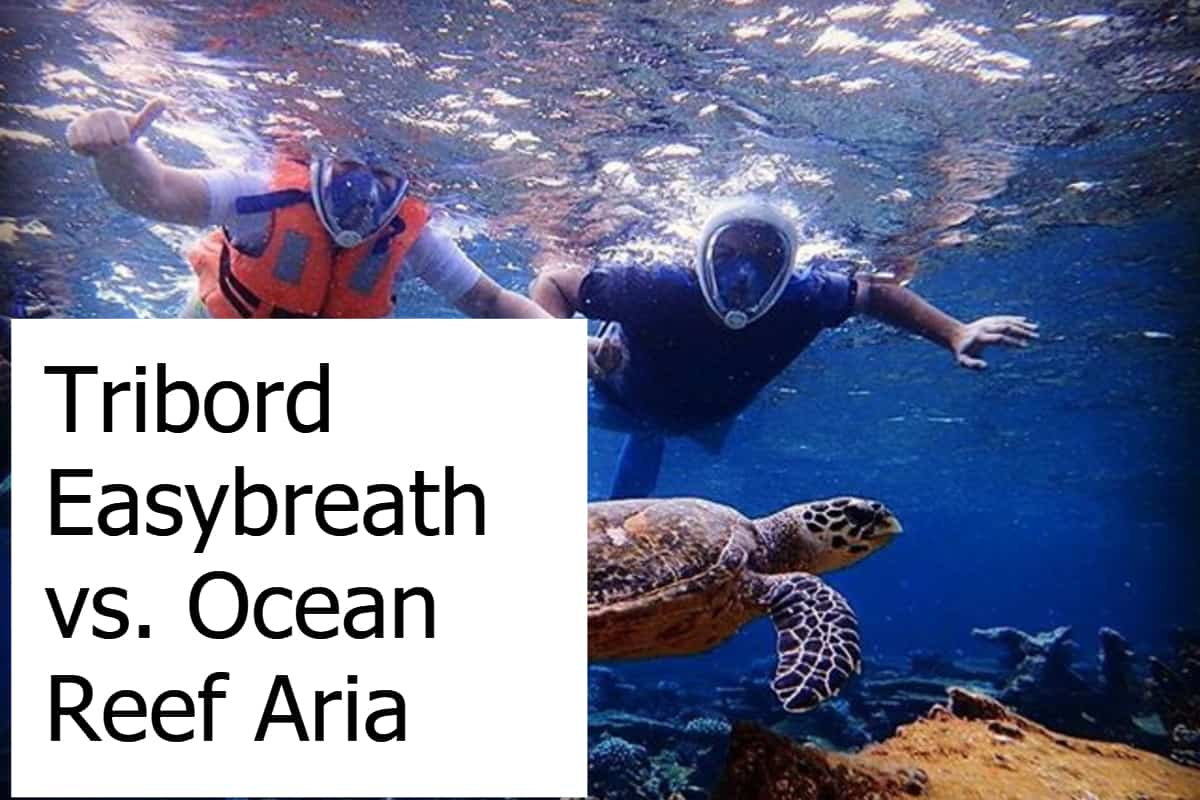 Comparing the Ocean Reef Aria with the Subea Easybreath