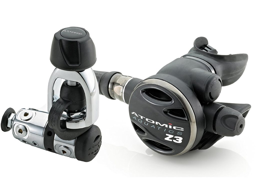 Atomic Aquatics Z3 Regulator Yoke Design for first stage