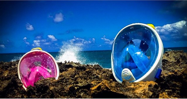 Different colors for the H2O Ninja Goggles