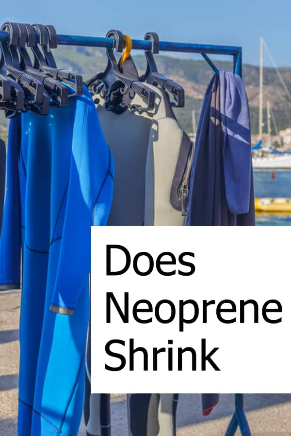 Is it possible that Neoprene might shrink? How can you avoid it?